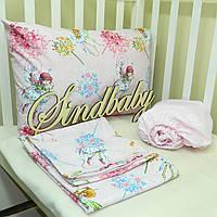 Комплект детского белья в кроватку - 12