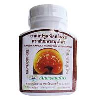 Гриб Линджи - в растении содержится более 30 компонентовдля здоровья человека./Thanyaporn herbs / 100 таб