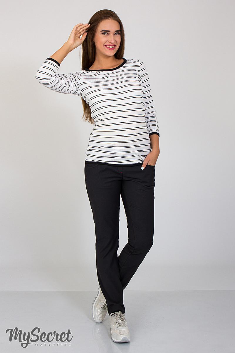 Джинсы-skinny fit для беременных Paia, из стрейчевого коттона, черные , фото 63cf43598a0