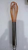 Венчик силиконовый с металлической ручкой FNX