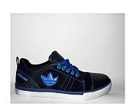 Замшевые подростковые кроссовки