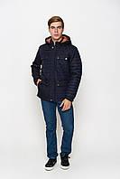 Куртка стеганая демисезонная с капюшоном