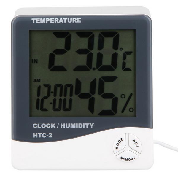Цифровой термогигрометр HTC-2
