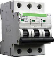 Модульные автоматические выключатели АВ2000 (CITY) 3P