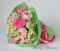 """Букет из цветов и конфет """"Чудеса"""""""