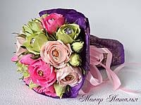 """Букет з квітів і цукерок """"Чудеса"""", фото 1"""
