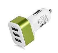 Адаптер CAR USB 3-порта USB-(2.1a 2.0a 1.0a) FFX