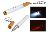 Лазер, фонарик, ручка, брелок сигарета zk 9107 FDV