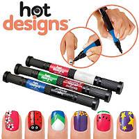 Набор лаков для дизайна ногтей Hot Designs Nail Art Pens VX