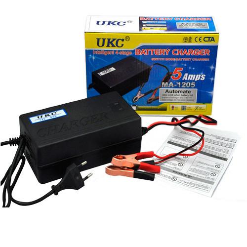 Устройство для зарядки гелевых и свинцово-кислотных аккумуляторов UKC MA-1205A FP - $$P Одесса  в Одессе