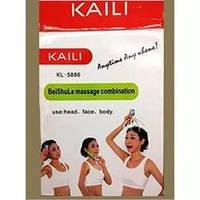 Ручной массажер для головы, лица, тела с насадками KAILI FD