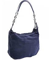 Женская сумка CB-505 Blue.Купить женские замшевые сумки оптом и в розницу дёшево в Украине.