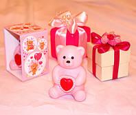 """Мыло ручной работы """"Розовый мишка"""" (арт. MS-018)"""