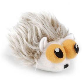 Pet Pro ПИНОЛ МЫШЬ игрушка для котов, плюш, серая
