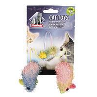 КАРЛИ-ФЛАМИНГО МАУС КЕТНИП игрушки для кошек, мыши с кошачьей мятой, 2 шт., 5 см