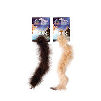 КАРЛИ-ФЛАМИНГО пушистая игрушка для котов, боа, 4,5х40см