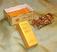 """Подарочное мыло """"Слиток золота"""" (арт.MS-027)"""