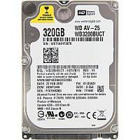 "Накопитель HDD 2.5"" SATA 320GB WD AV-25 5400rpm 16MB (WD3200BUCT)"