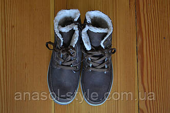 Ботинки детские  Lupilu коричневые зима