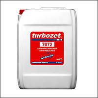Антифриз - Красный Turbozet 7072 с ZET-присадками (10 кг)