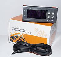 Цифровой термостат STC-1000 с двумя реле (Блок питания – трансформаторный)