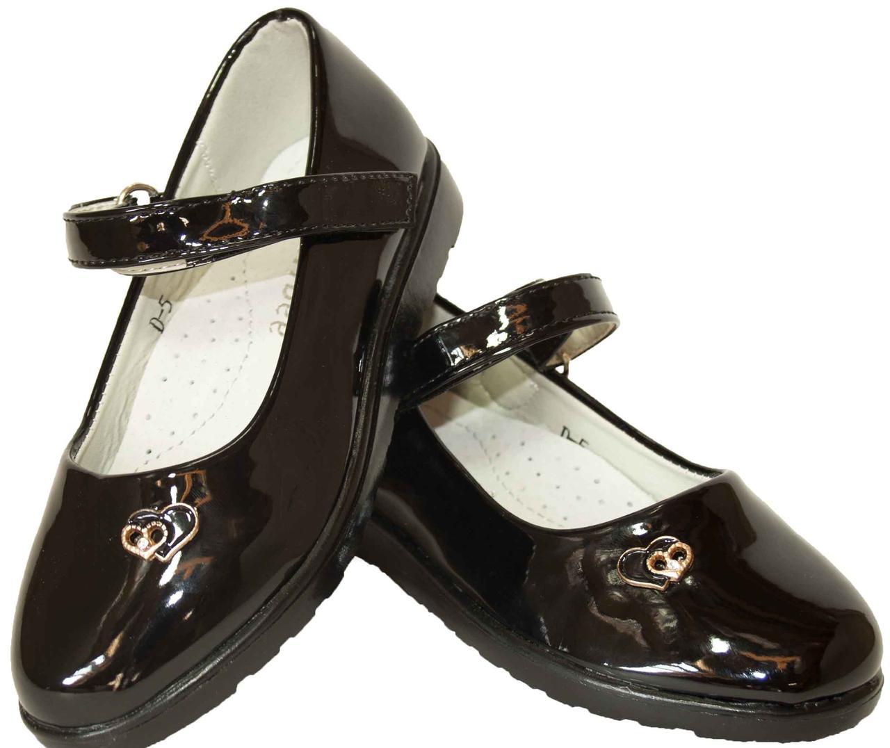 Дитячі святкові черевички для дівчаток Clibee розміри 27-32