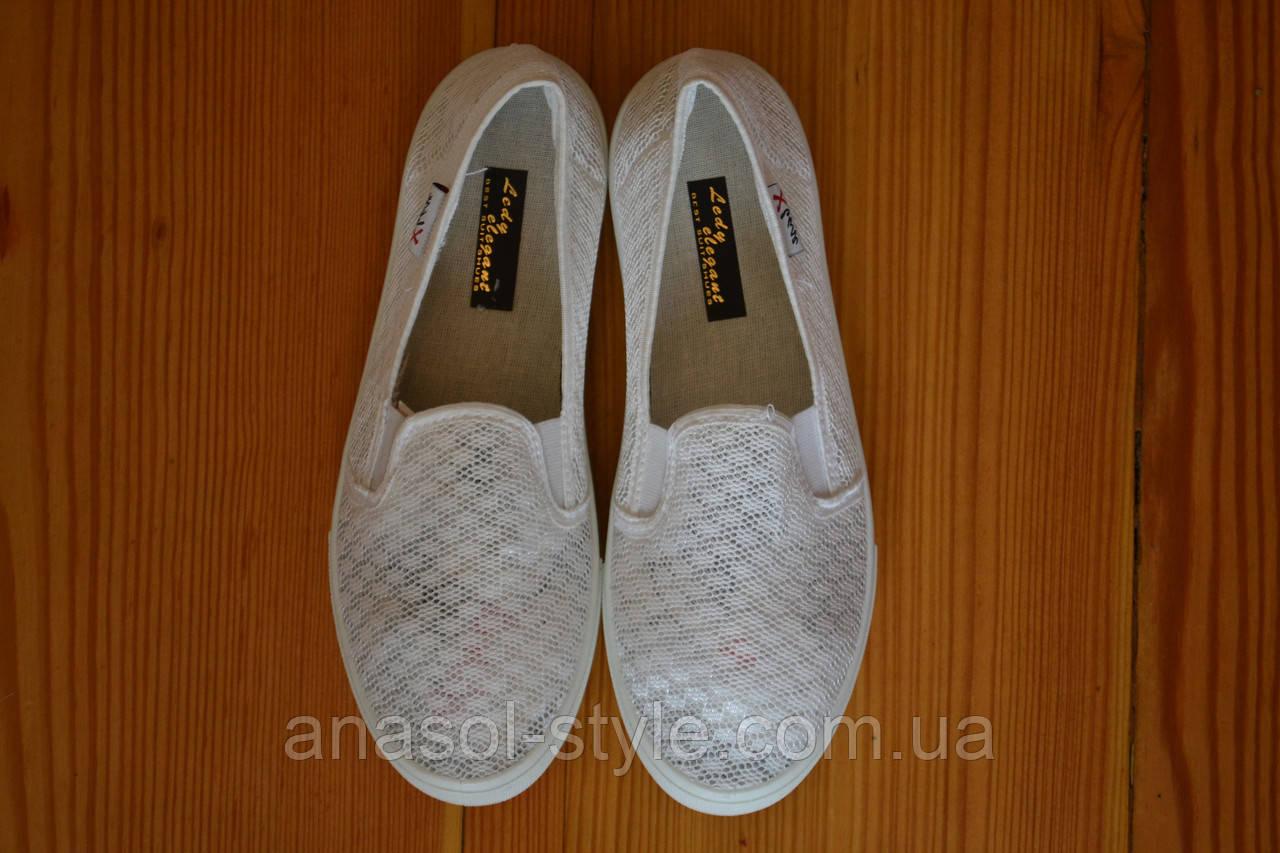 25e04beaa96c9b Слипоны текстиль белые: продажа, цена в Львове. мокасины и слипоны ...