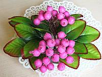 Ягоды сахарные малиновые с лиловым оттенком 40 шт