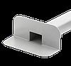 Переливная, парапетная воронка ПВХ  65х100 L 450 мм