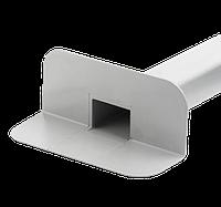 Переливная, парапетная воронка ПВХ  65х100 L 450 мм, фото 1