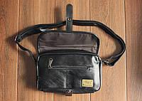 Мужская кожаная сумка. Модель 61236, фото 8