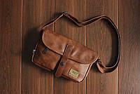Мужская кожаная сумка. Модель 61236, фото 3