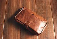 Мужская кожаная сумка. Модель 61236, фото 2