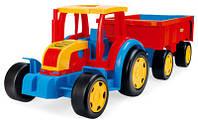 Трактор Гигант с прицепом арт. 66100 NDM