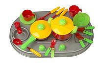 Кухня с мойкой,посудой,в кор  04-409 DK