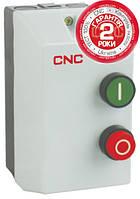 Пускатель электромагнитный в корпусе с тепловым реле LE1-12, АС-3, 5,5кВт, реле 9-13А, 380В, 12А, CNC