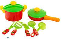 Посуда  9 предметов в сетке № 04-433 ZZ
