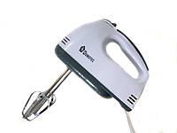 Миксер ручной Domotec MS-1333 7 скоростей, домашний миксер, кухонный миксер
