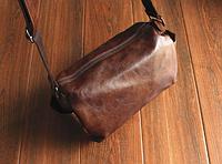 Мужская кожаная сумка. Модель 61237, фото 2