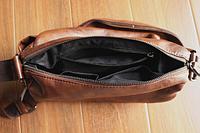Мужская кожаная сумка. Модель 61237, фото 8