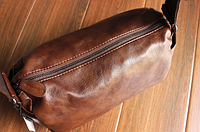 Мужская кожаная сумка. Модель 61237, фото 3