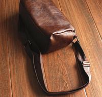 Мужская кожаная сумка. Модель 61237, фото 4