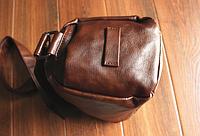 Мужская кожаная сумка. Модель 61237, фото 5