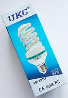 Светодиодная лампа LED UKC 220V 12W E27 Спиральная 4025, энергосберегающая лампа