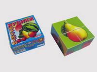 Кубики «Фрукты»  арт.0627 FFC