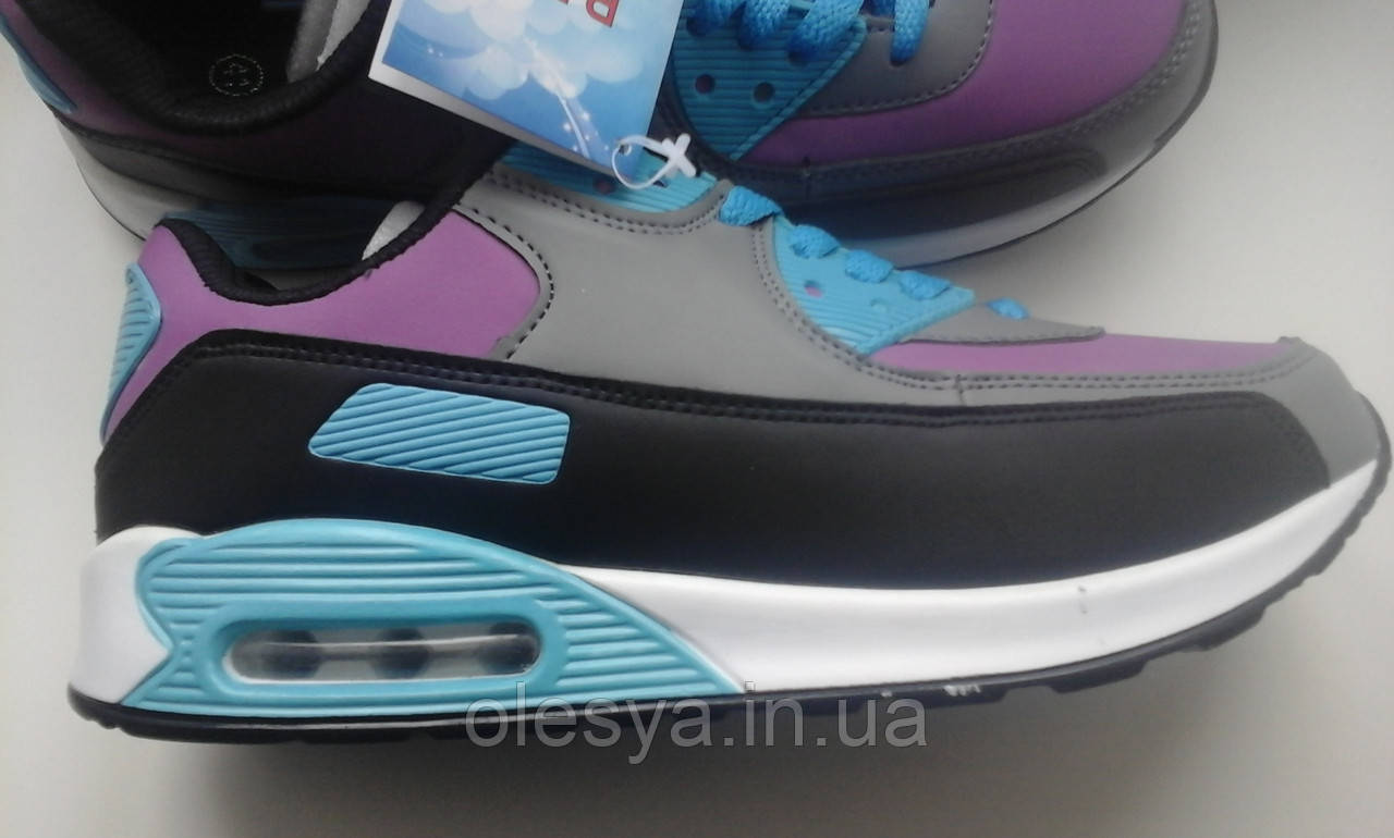 Женские модные кроссовки в стиле Nike AirMax - 36 размер