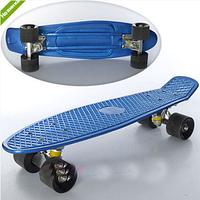 Скейт MS 0297 (6шт) пенни, 55-14 см. алюминевая подвеска. колеса ПУ, 6 цветов ZMX