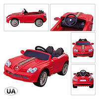 Машина SLR-722SR-3 2*35W/12V/7AH, 3-7км/ч, 3-8лет, красная, на Р/У 120-56-45см ZMZK