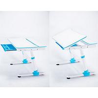 Парта E 501-1 регулир-я высота и наклон(до 25 °), выдв.ящ., упаков.в 2-е коробки, синяя ZMXX