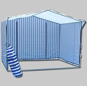 Торгова палатка 2х2 м, каркас з 25-тої труби, прогумоване покриття, фото 2